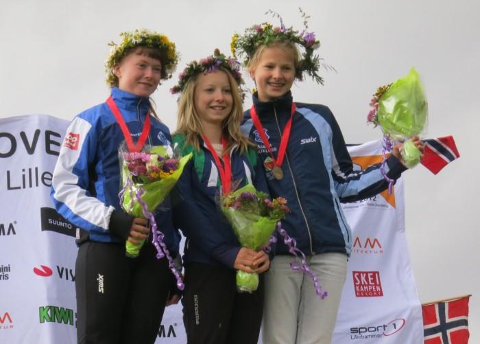 Tilla F. Hennum og Fanni J. Markussen er to løpere med medaljer både sommer og vinter det siste året.