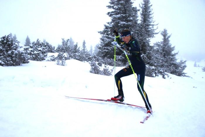 Tove Alexandersson gikk til topps i dameklassen. Foto: Stein Arne Negård