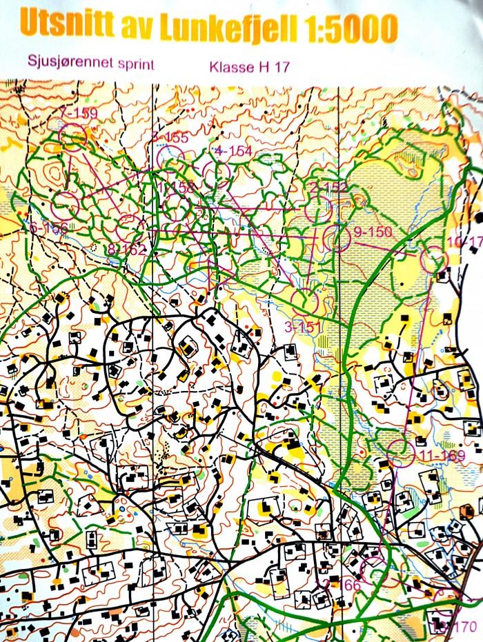 Kart for H17 i norgescupåpningen
