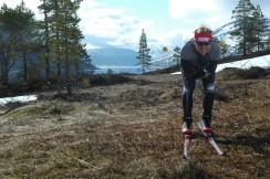 Eivind Tonna på barmarkski